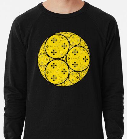 Apollonian Gasket Fractal 003 Lightweight Sweatshirt