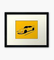Air-cooled German Sports Car Framed Print