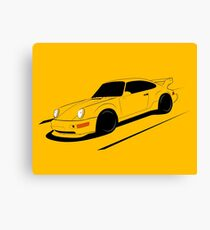 Air-cooled German Sports Car Canvas Print