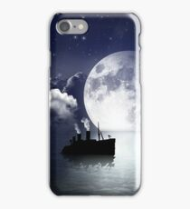Ship Sailing on Ocean Water iPhone Case/Skin