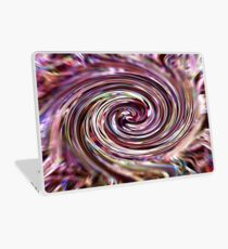 Digital Art (derived from ribbon grass plant image) Laptop Skin