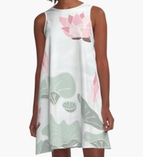 Sacred Lotus A-Line Dress