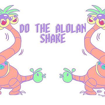 DO THE ALOLAN SHAKE by bigeyedweirdo