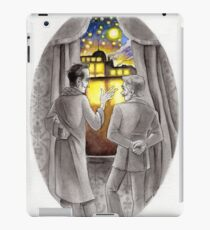 "Life is Infinitely Stranger"" - Holmes and Watson - 221B version #  iPad Case/Skin"