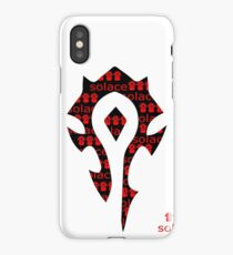 Solace Horde iPhone Case