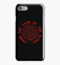 FROM THE LAND OF THE HYPHY iPhone Case/Skin