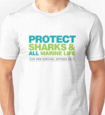 Protect Sharks & All Marine Life T-Shirt