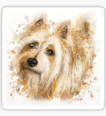 Pegatina Terrier australiano (Bella)