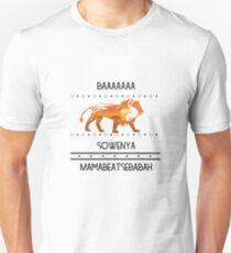 Lion King design-BAA SOWENYA!! Unisex T-Shirt