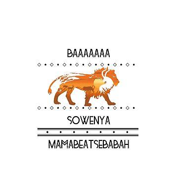 Lion King design-BAA SOWENYA!! by Juaco