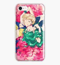 Sailor Uranus And Neptune iPhone Case/Skin