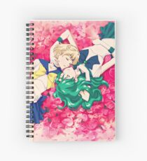 Sailor Uranus And Neptune Spiral Notebook