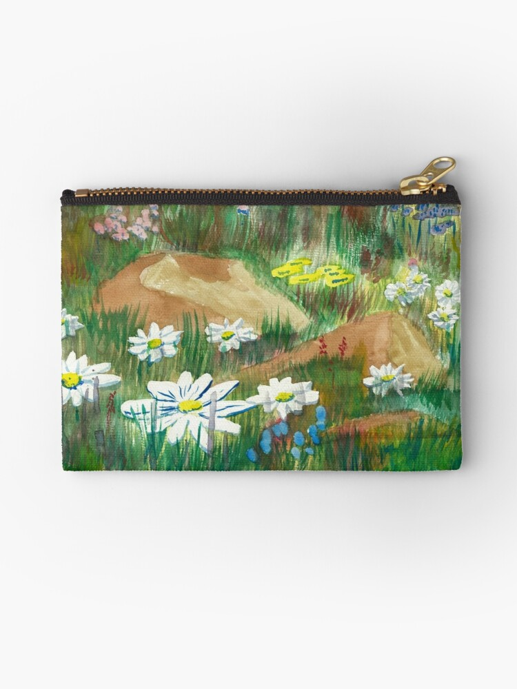 Wildflowers - Water Colors by Gordon Pegler