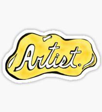 Artist Sticker