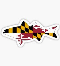 Maryland Rockfish Sticker