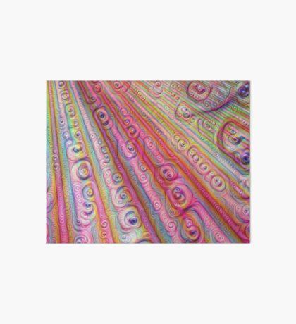 Seashells #DeepDream Art Board Print