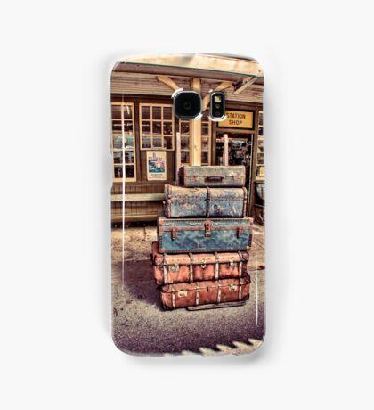 Left Lugage Samsung Galaxy Case/Skin