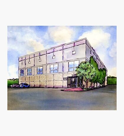 The Office Dunder Mifflin Painting Photographic Print