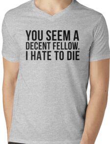 Decent Fellow - Die Mens V-Neck T-Shirt