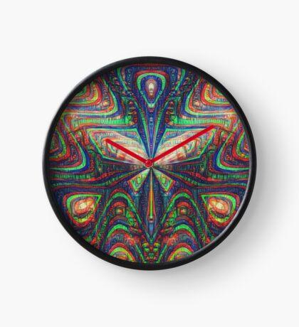 Warrior #DeepDream frequency Clock