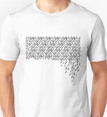 Falling Notes Unisex T-Shirt