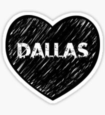 I Love Dallas - I Heart DAL (Urban) Sticker