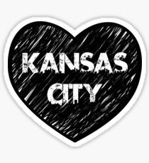 I Love Kansas City - I Heart KC (Urban) Sticker