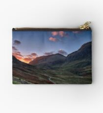 Dawn Light in Glencoe Zipper Pouch