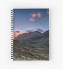 Dawn Light in Glencoe Spiral Notebook