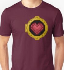Heart Observation Porthole - Pixel Art Unisex T-Shirt