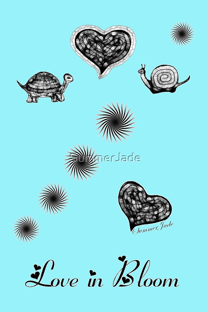 Cheeky Turtle Meets Shy Snail ~ ♥ by SummerJade