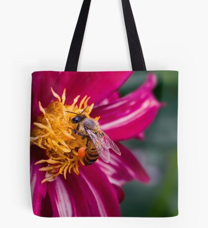 Bee-licious Dahlie Tote Bag