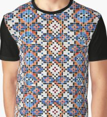 Persian Paper Pattern - Tiles Graphic T-Shirt