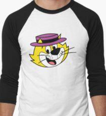 He's the most tip top, Top Cat! Men's Baseball ¾ T-Shirt
