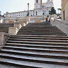 Spanish Steps by Karen E Camilleri