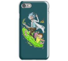 Rick And Morty Fuck Off iPhone Case/Skin