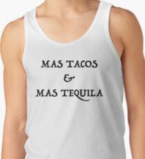 Mas Tacos & Mas Tequila Tank Top