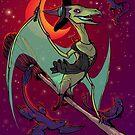 Pteranodon Witch by Megan Dvorak