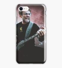 Heavy Metal Football Klopp iPhone Case/Skin