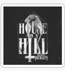 House on a Hill Sticker