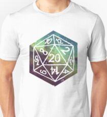 d20 (Nebula) Unisex T-Shirt