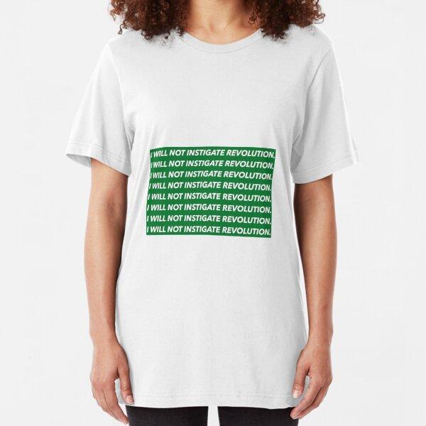 Chalkboard Gag - The Simpsons Slim Fit T-Shirt