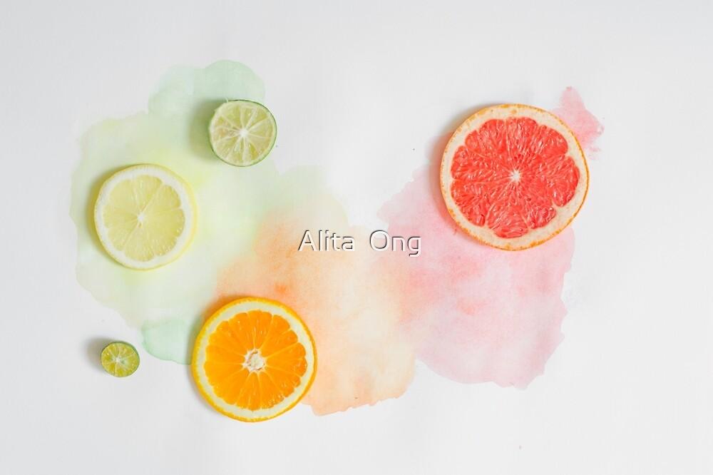 Summer citrus by Alita  Ong