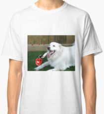 OH...LADYBUG ...THATS A COOL DRINK OF WATER...(CANINE-LADYBUG) - PICTURE & CARD & PILLOW -TOTE BAG Classic T-Shirt