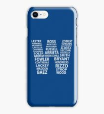 Cubs W Flag iPhone Case/Skin