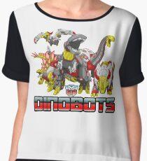 dinobots transformers Women's Chiffon Top
