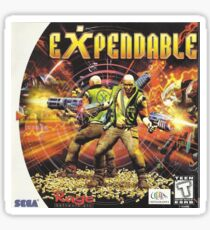 expendable Sticker