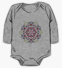 Flowers mandala #38 One Piece - Long Sleeve