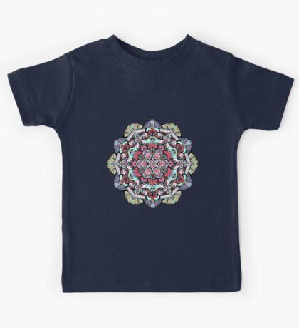 Flowers mandala #38 Kids Clothes