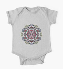 Flowers mandala #38 Kids Clothes
